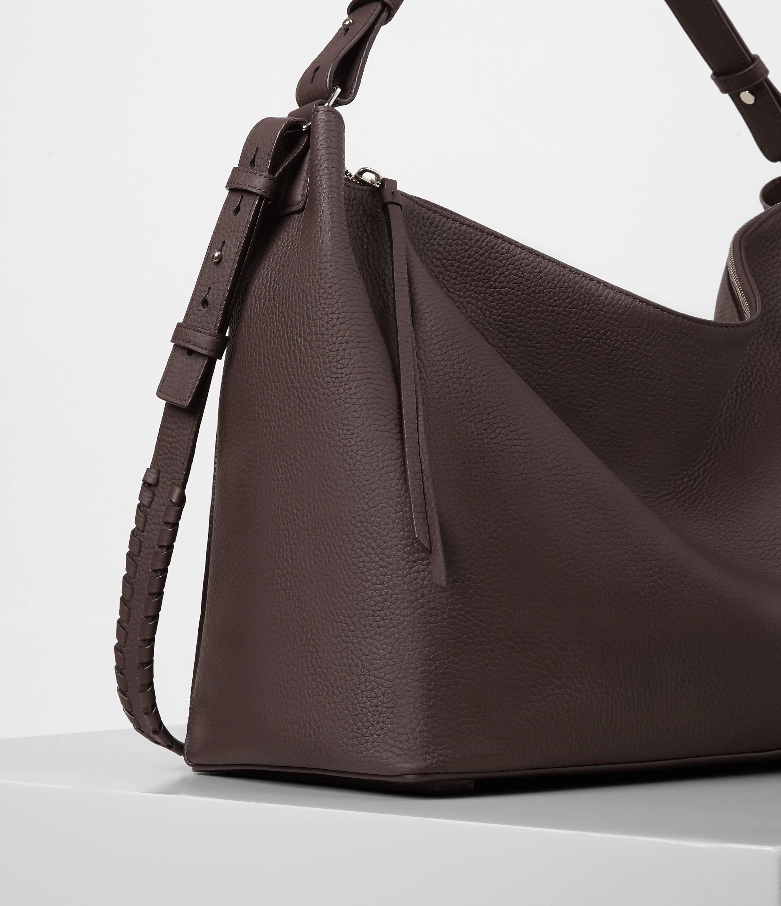 Allsaints Kita East West Tote In White Lyst