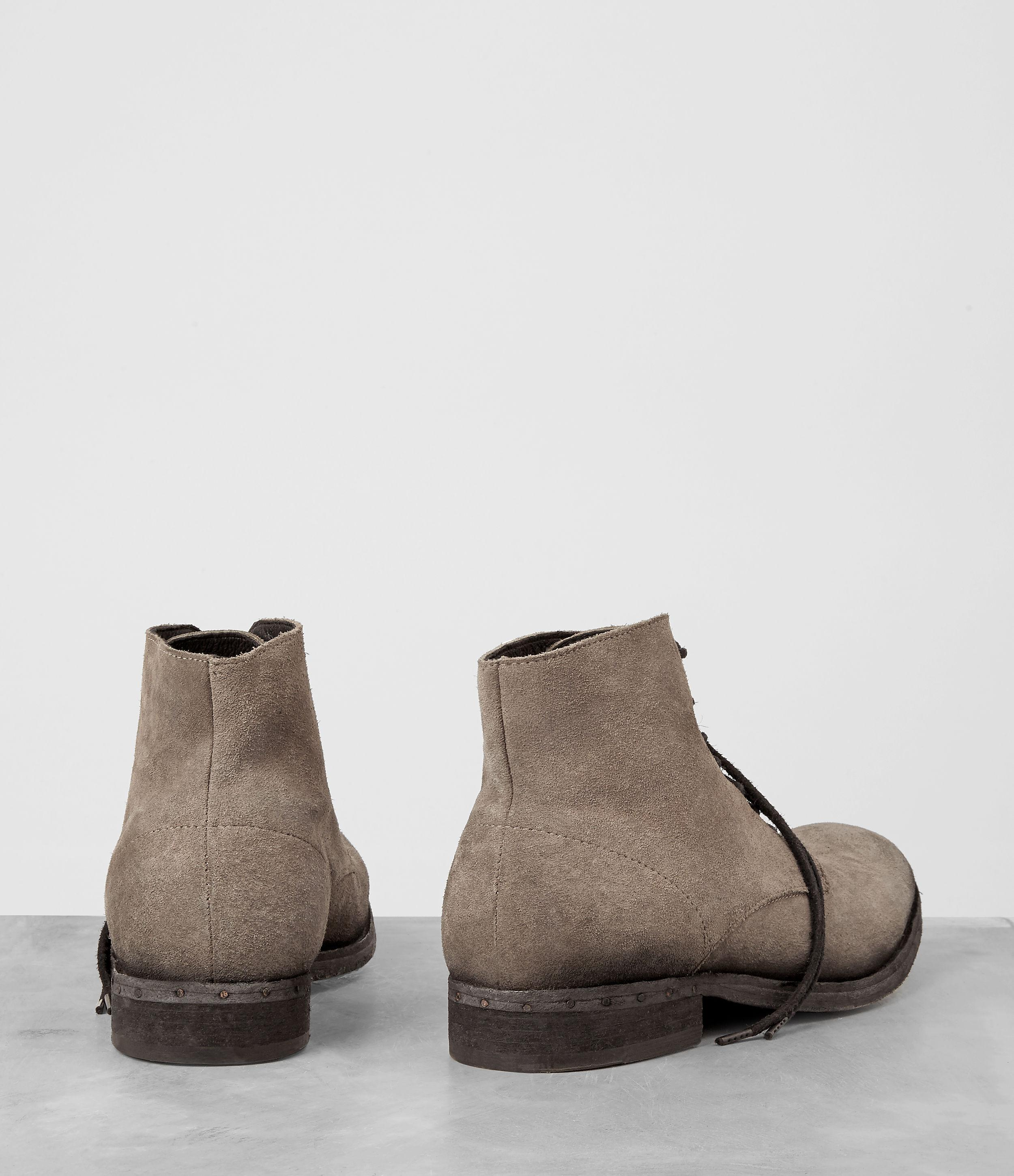 AllSaints Pin Boot in Taupe (Brown) for Men Lyst