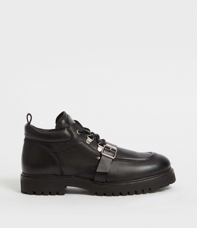 f46ab625a05b18 Lyst - AllSaints Yarrow Boot in Black