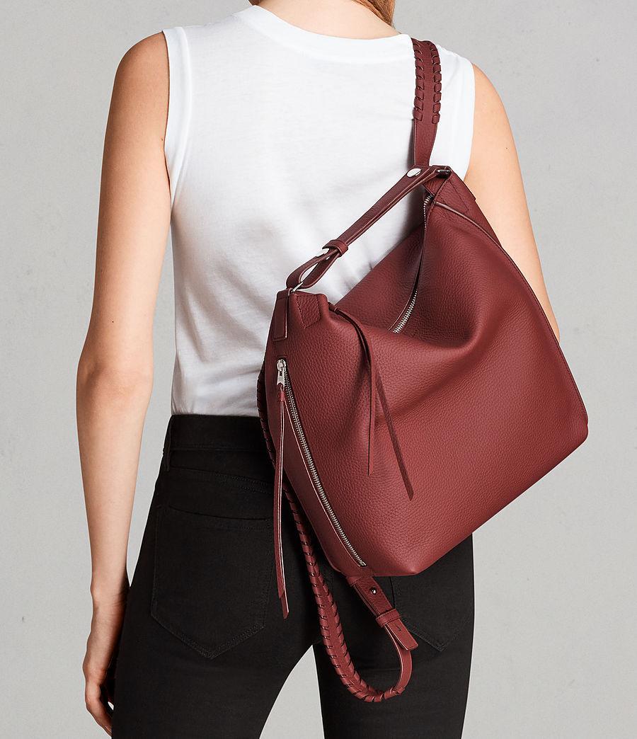 bd5d609887 Lyst - AllSaints Kita Sm Backpack in Red