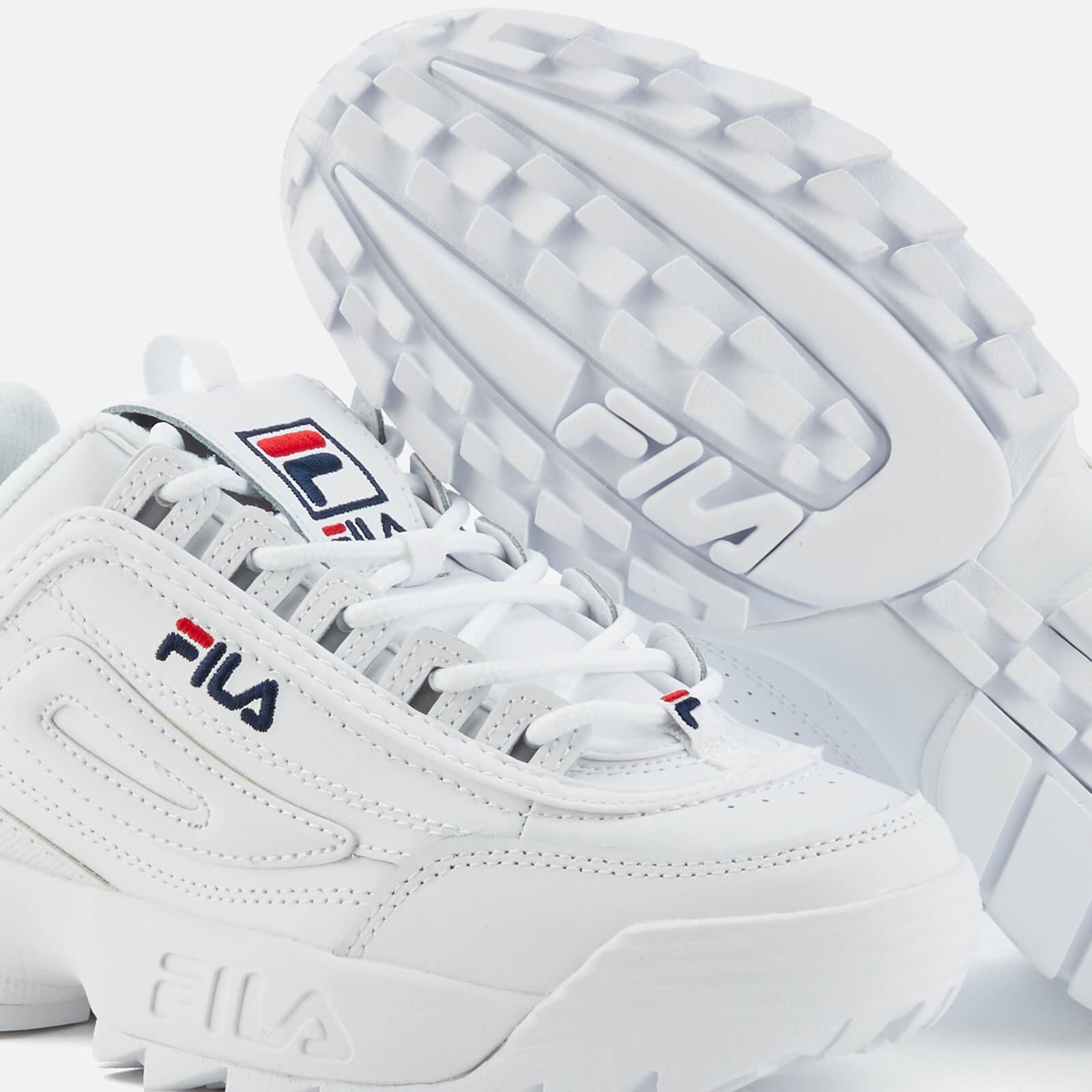 bdf3c6c746e0 Lyst - Fila Disruptor 3 Premium Trainers in White for Men