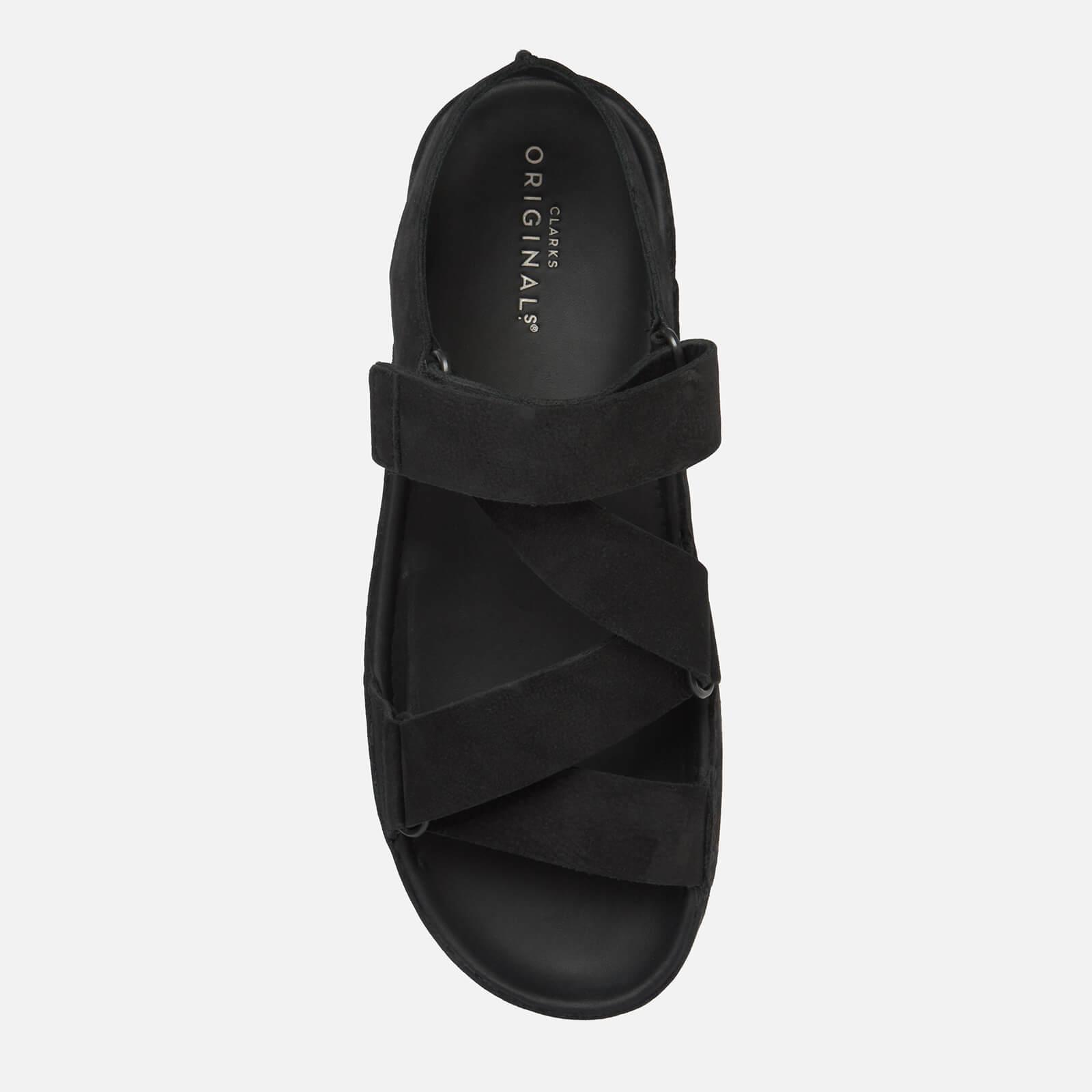 7a1b17881385 Clarks - Black Ranger Sport Nubuck Sandals for Men - Lyst. View fullscreen