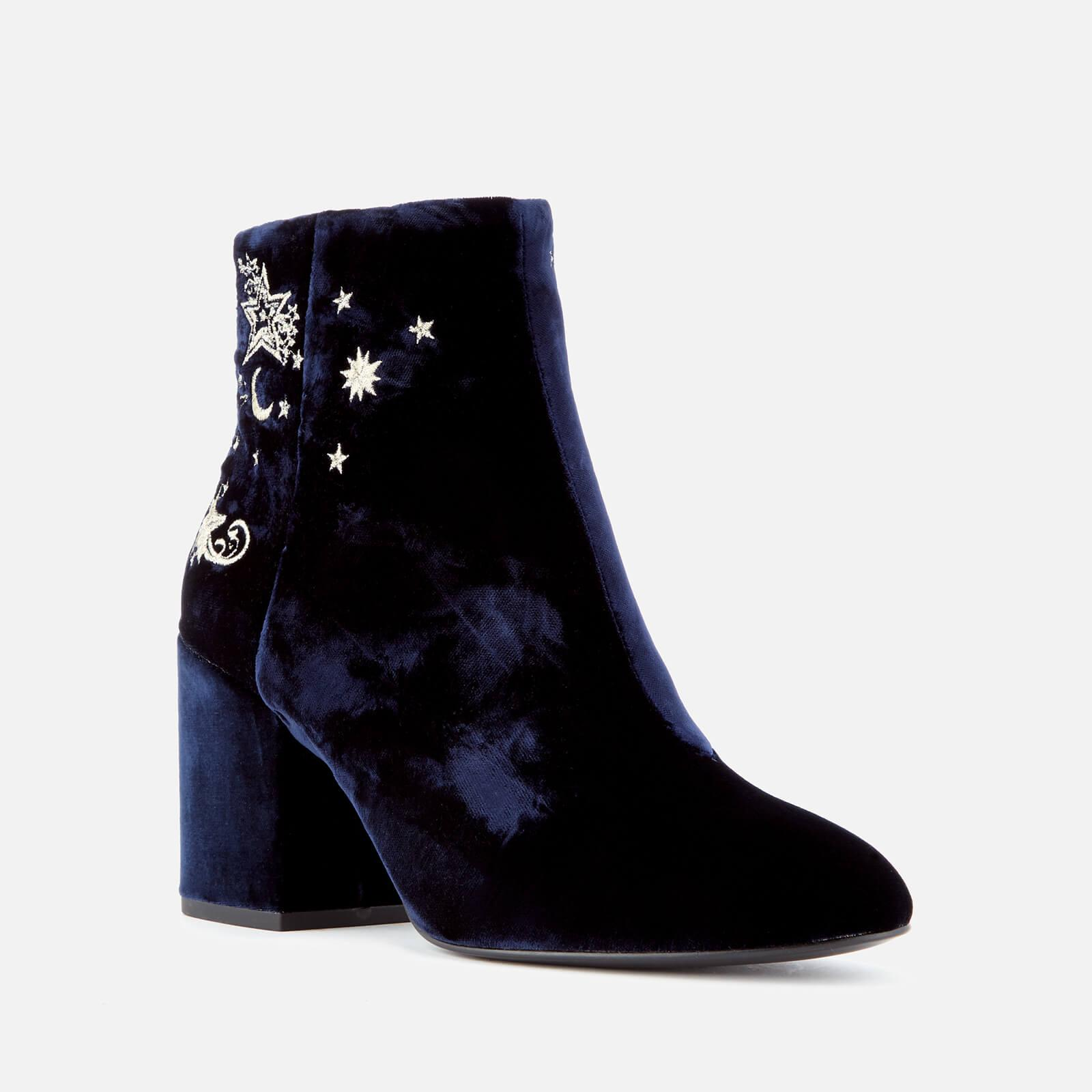 Ash Women's Elixir Velvet Heeled Ankle Boots Clearance Footaction Buy Cheap Order Buy Cheap Newest Pay With Visa For Sale katVVznDr