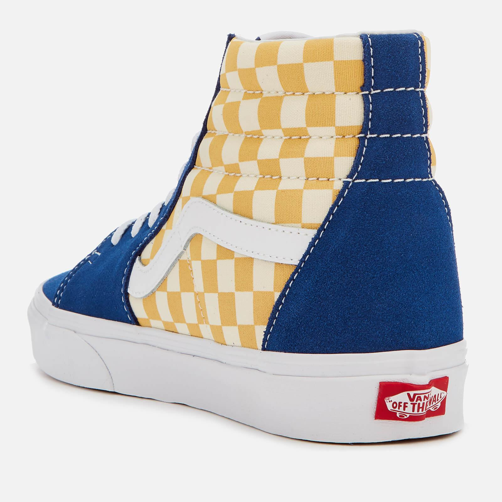 bf3c322ba9a54c Vans Sk8-hi Bmx Checkerboard Trainers in Blue for Men - Lyst