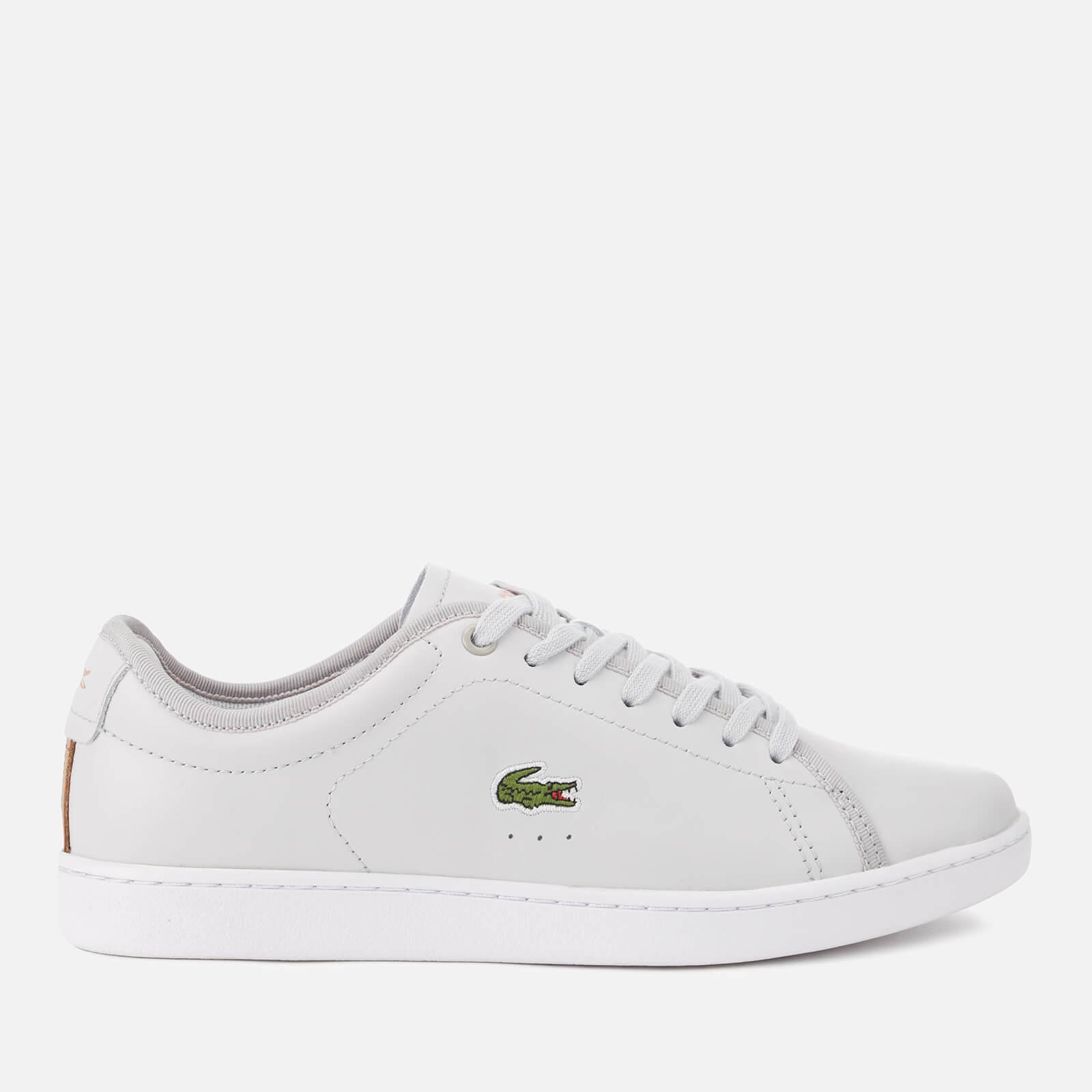 ee01afa5f3f054 Lyst - Lacoste Carnaby Evo 318 6 Leather Trainers in Gray