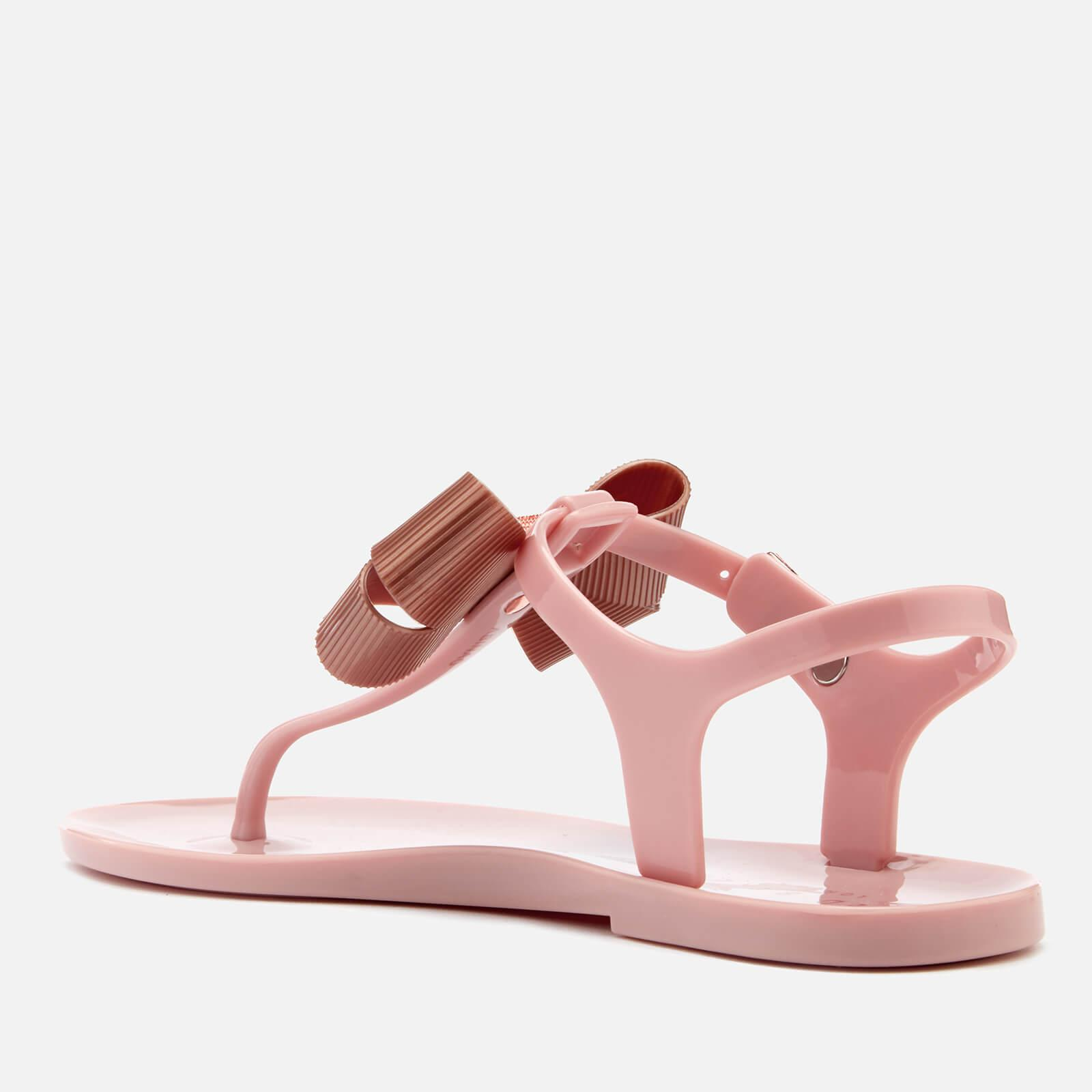 883c1886c55aeb Lyst - Ted Baker Camaril Toe Post Sandals in Pink