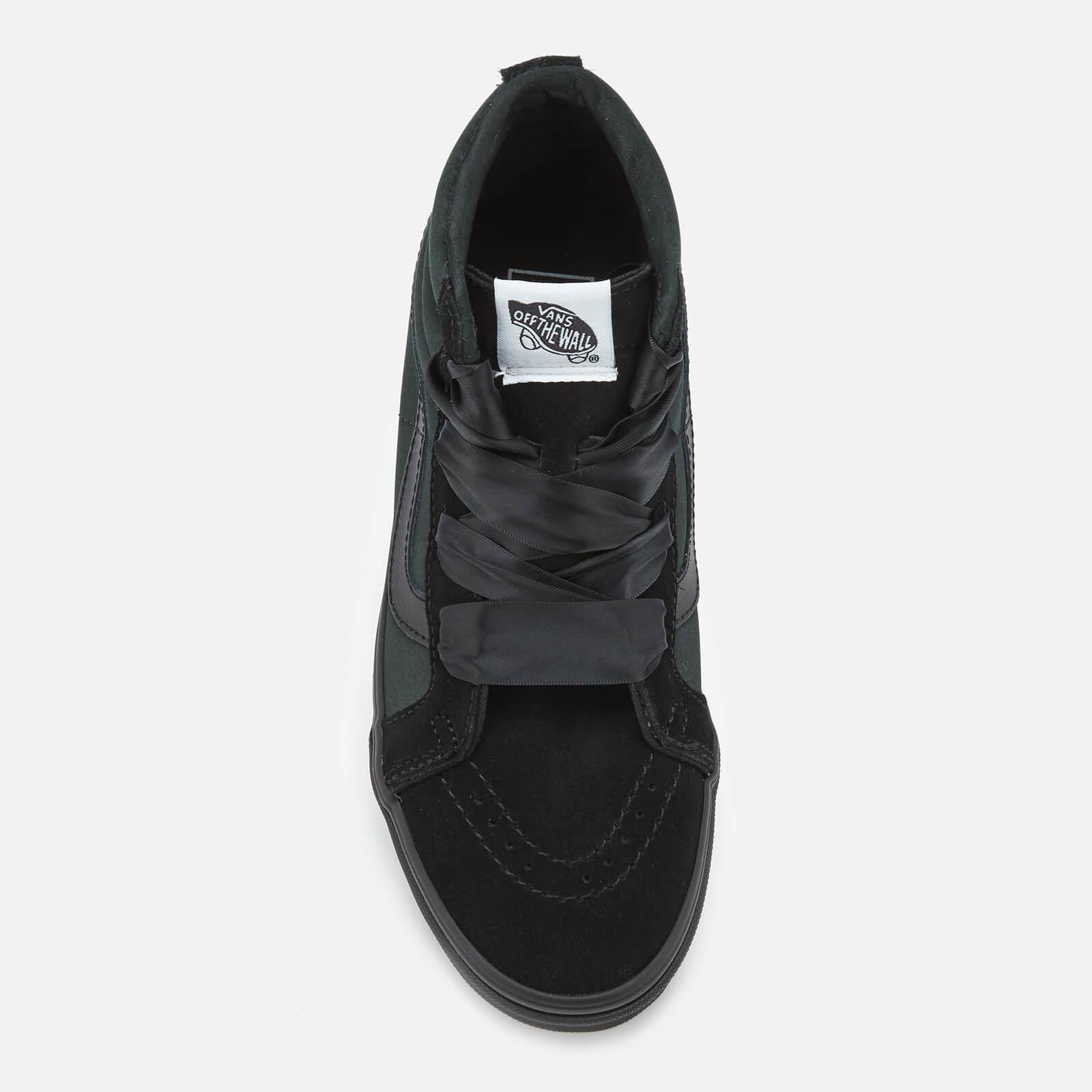 Lyst - Vans Sk8-hi Alt Lace Ballerina Trainers in Black 6f872181d