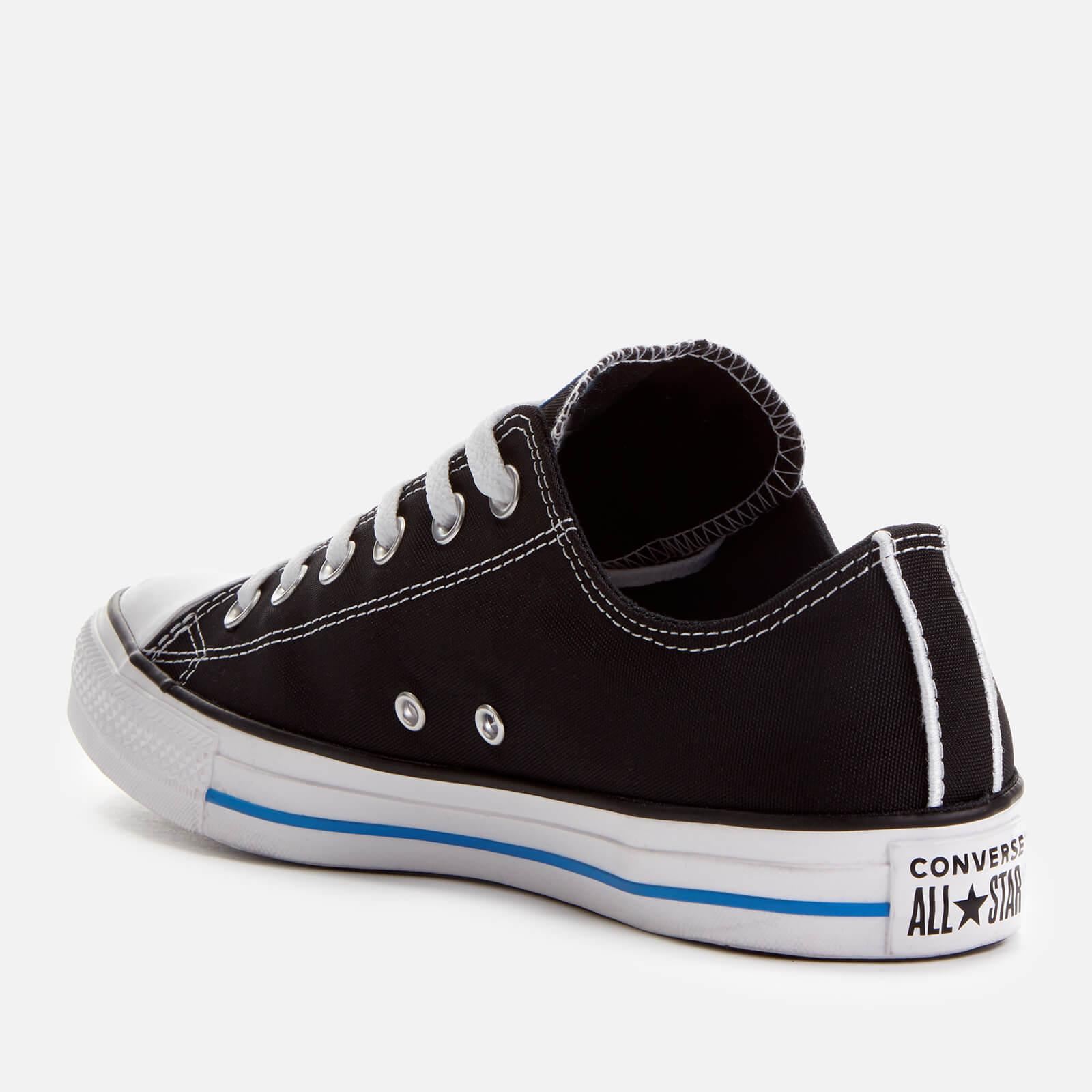 c6ded271af2d Converse - Black Chuck Taylor All Star Ox Trainers for Men - Lyst. View  fullscreen