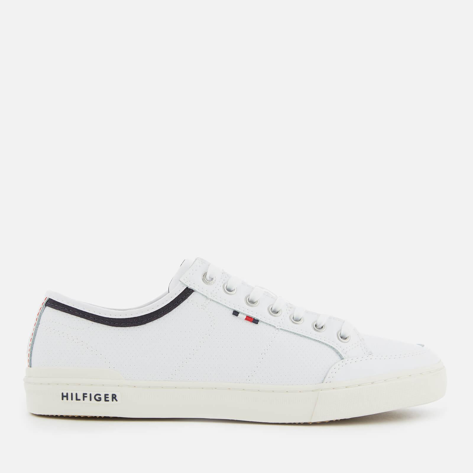 a4b608ce1d19 Tommy Hilfiger Core Leather Low Top Trainers in White for Men - Save ...