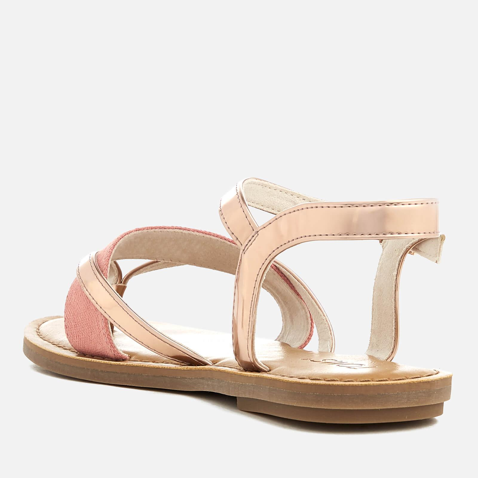03e0f627546 TOMS - Pink Lexie Strappy Sandals - Lyst. View fullscreen