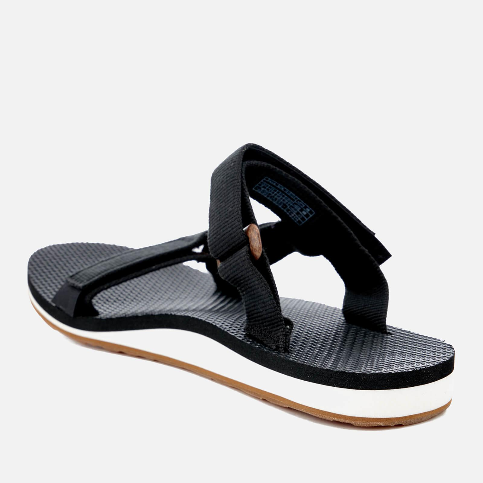 ad0993ce8b4 Teva - Black Universal Slide Sandals - Lyst. View fullscreen