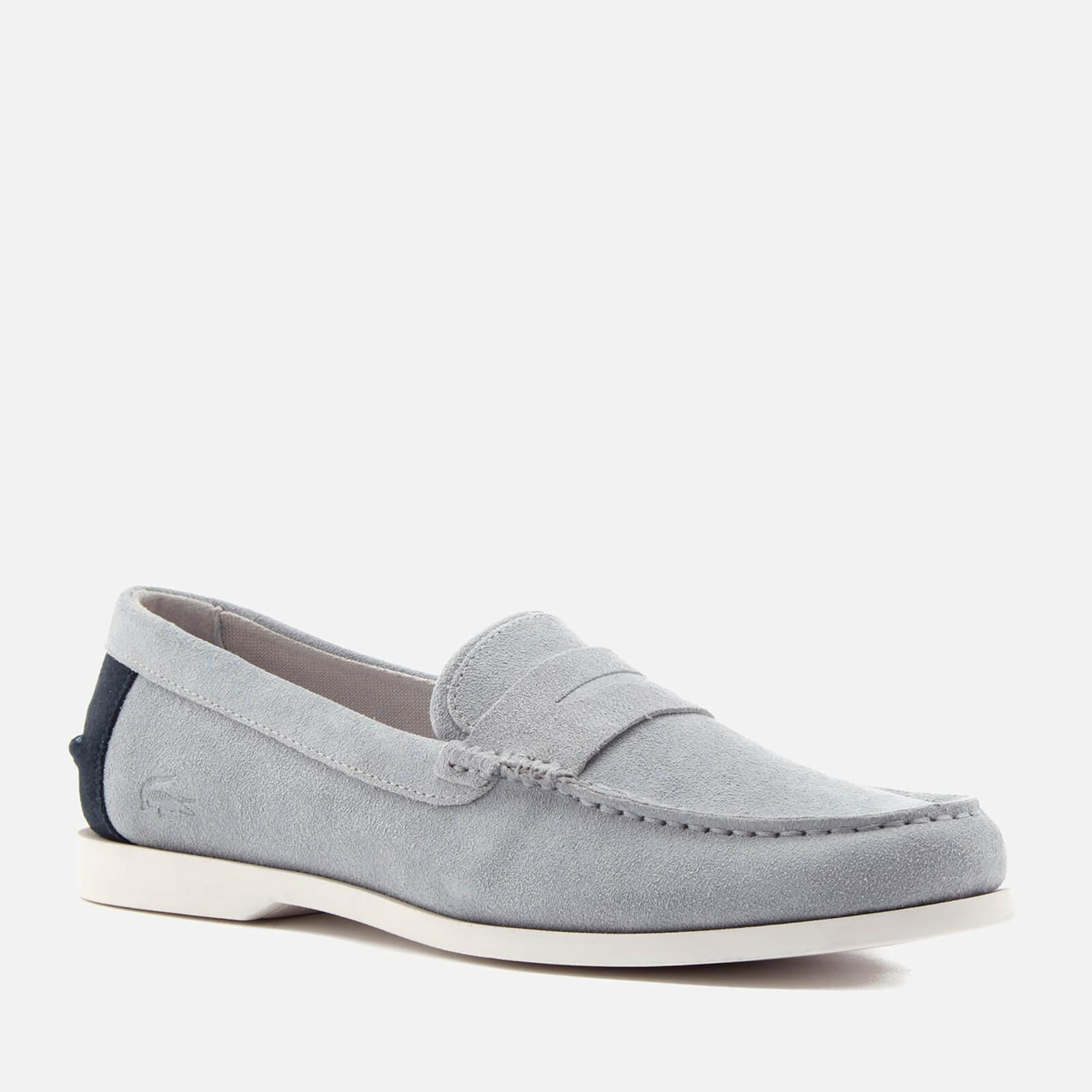 Lacoste Men's Navire Penny 216 Suede Loafers - - UK 10