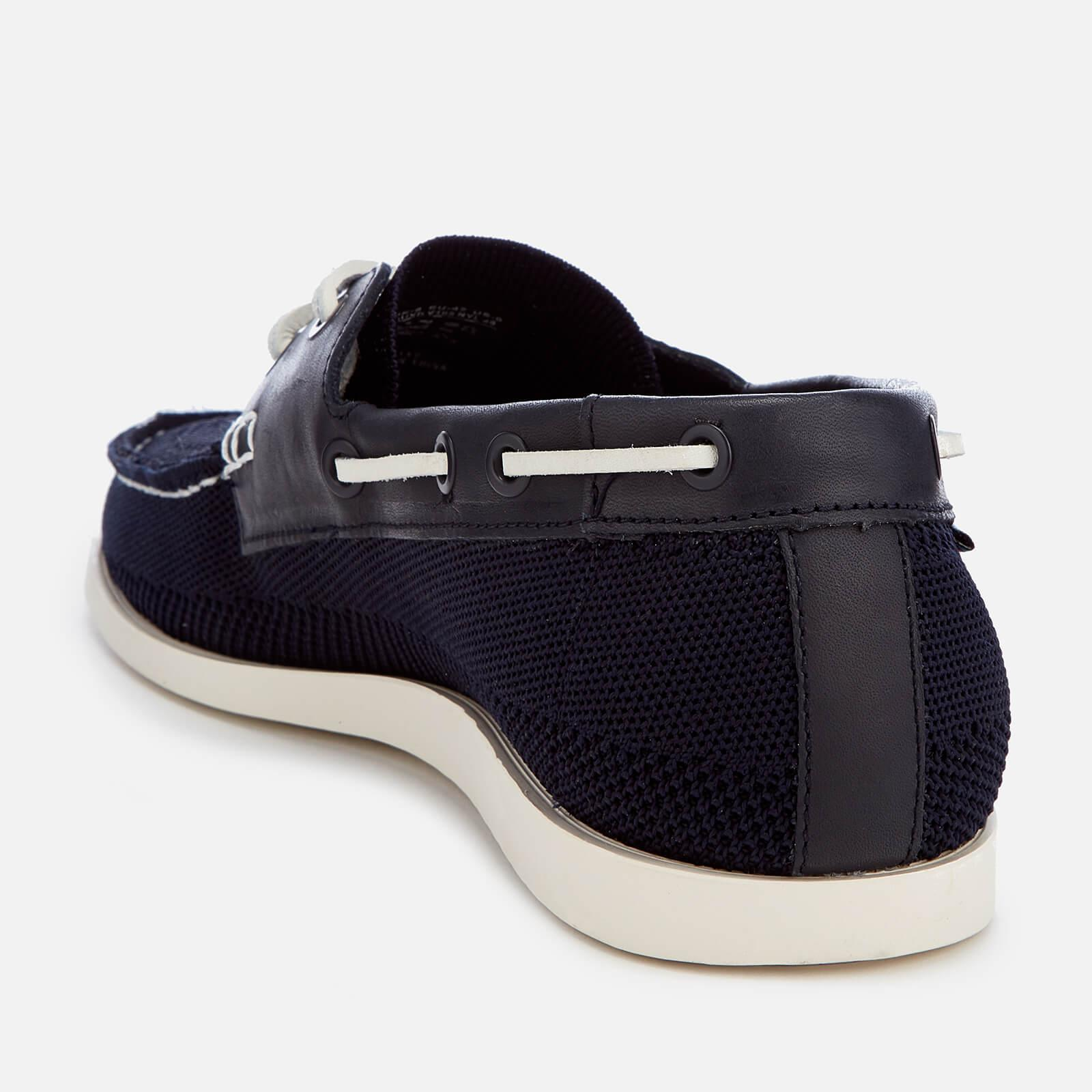 Ps Paul Smith Chaussure Bateau Tricoté Quint Dans La Marine - Bleu Marine TS3yi