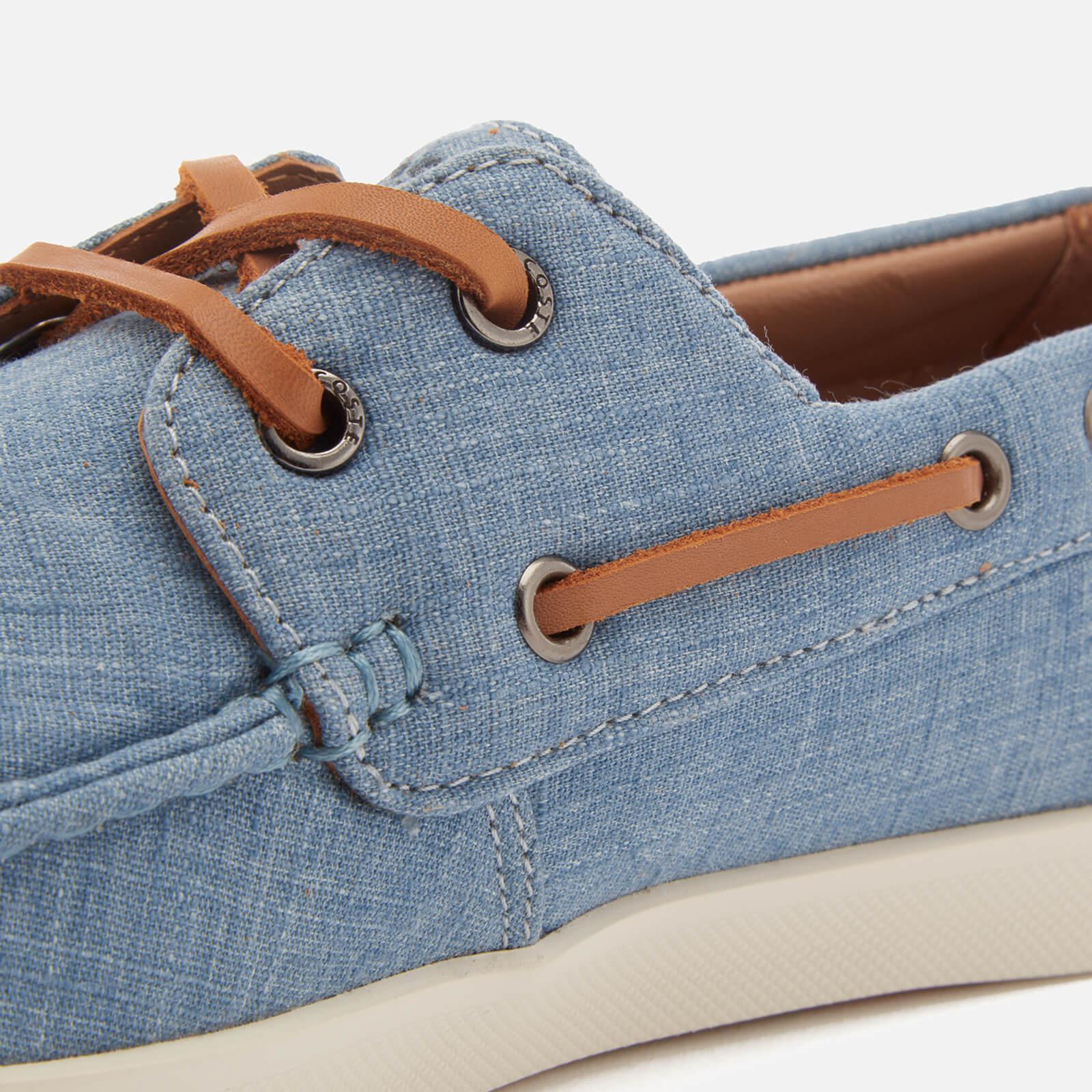 cc55f54cfeb2 Lacoste Keellson Boat Shoes in Blue for Men - Lyst