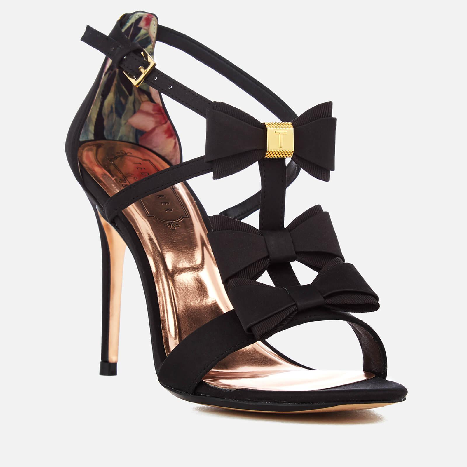 Triple Bow Detail Heeled Sandals Ted Baker jfXrP