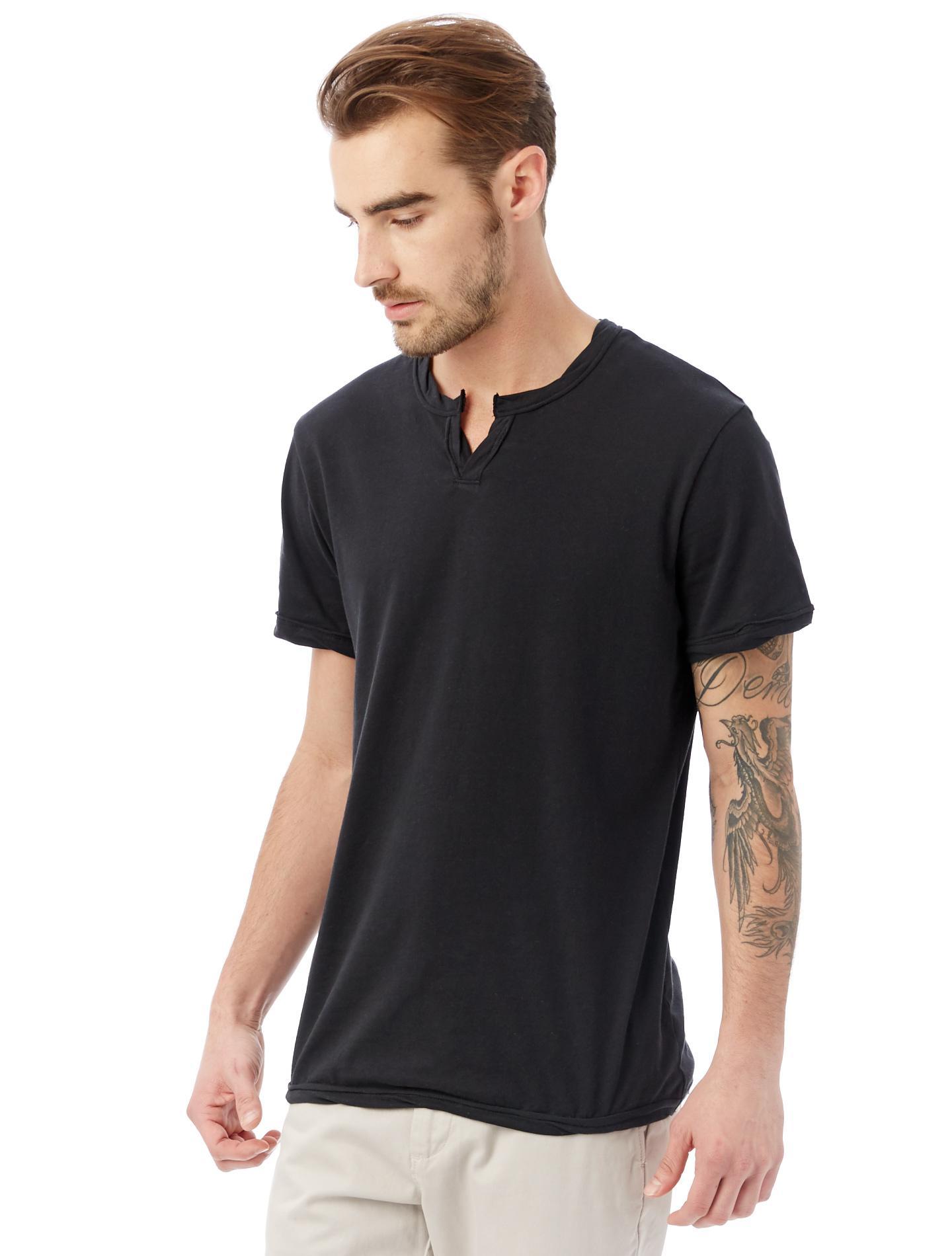 e3611eb0dd112 Lyst - Alternative Apparel Moroccan Organic Pima Cotton T-shirt in Black  for Men
