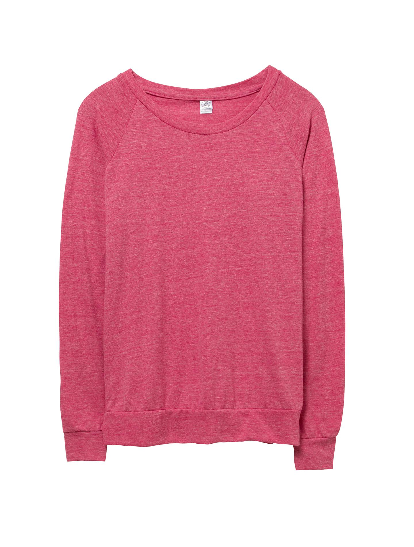 dfbe730cd5b Lyst - Alternative Apparel Slouchy Eco-jersey Pullover in Pink