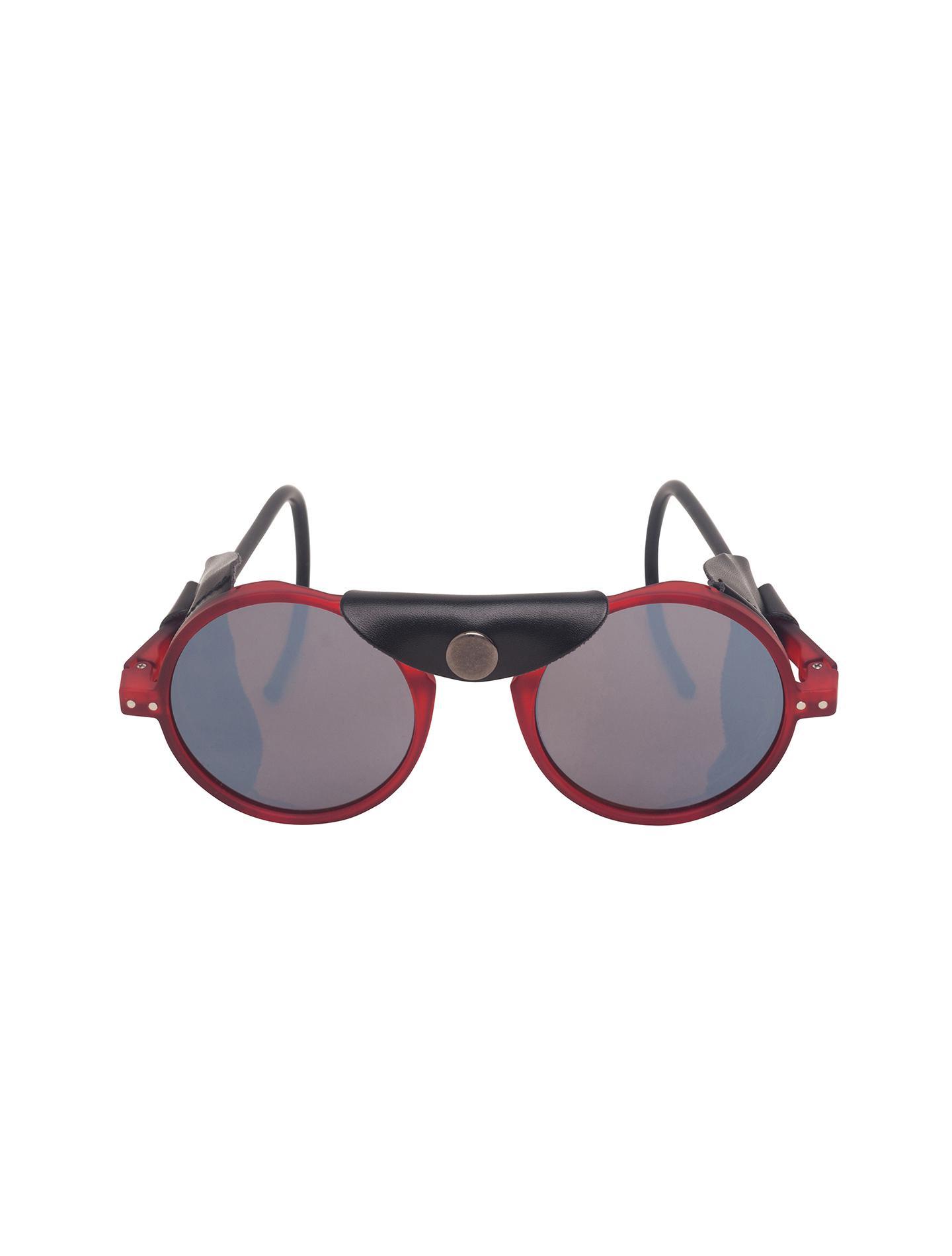 e50df59f42e Lyst - Alternative Apparel Izipizi Sun Glacier Glasses in Red