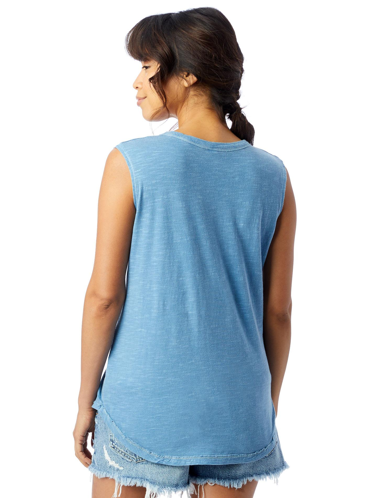 5eb81926cdfe99 ... Inside Out Shadow Wash Garment Dyed Slub Sleeveless T-shirt -. View  fullscreen