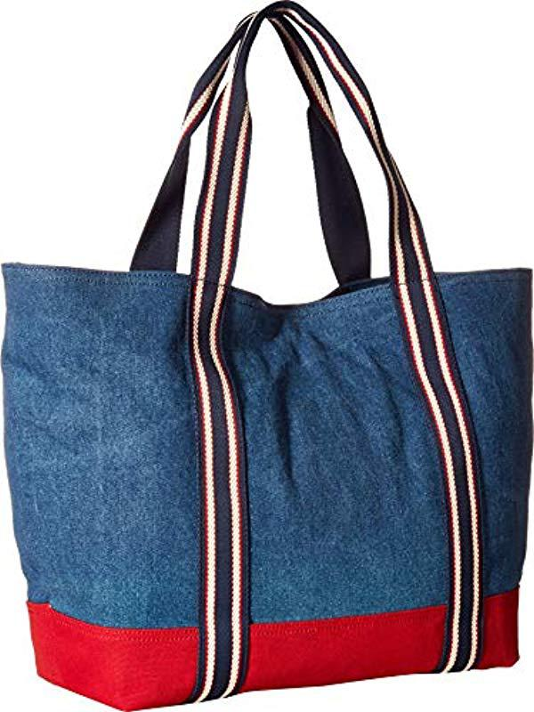 c1cb89d964c Tommy Hilfiger - Blue Bag For Canvas Item Tote - Lyst. View fullscreen
