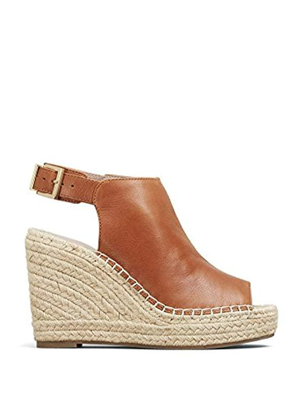 5726366b8ec Lyst - Kenneth Cole Olivia Espadrille Wedge Sandal in Natural - Save 56%