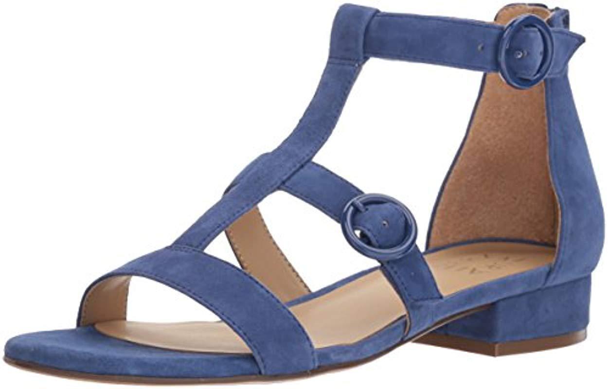 e256bdc78467 Lyst - Naturalizer Mabel Sandal in Blue - Save 55%