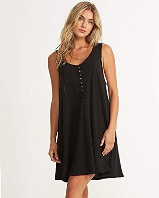 d11b8799b8 Lyst - Billabong Knit Dress in Black