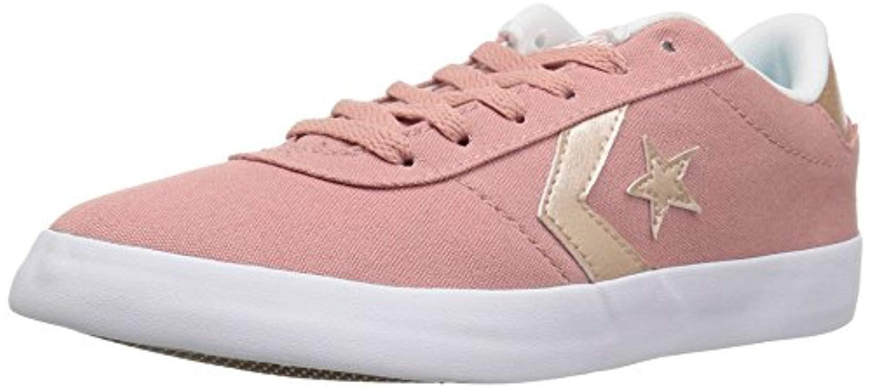 7a364188a5d9d8 Lyst - Converse Point Star Low Top Sneaker in Pink for Men