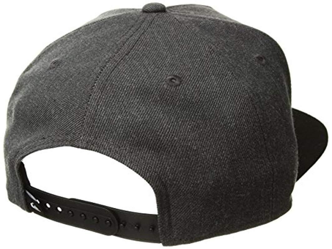 713f3bd5 Quiksilver - Gray Stuckles Snap Trucker Hat for Men - Lyst. View fullscreen