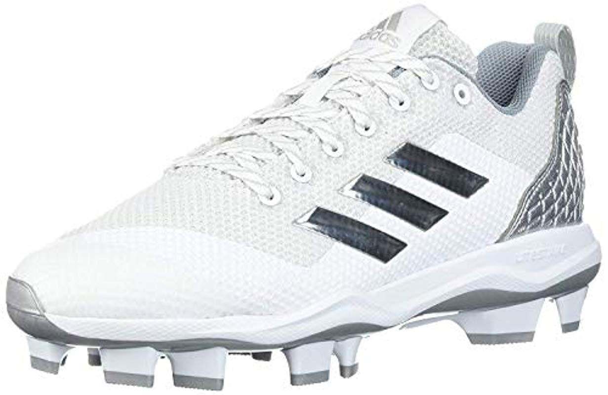 reputable site 5b7de f894f adidas. Men s Freak X Carbon Mid Baseball Shoe, Ftwr White, Silver Met ...