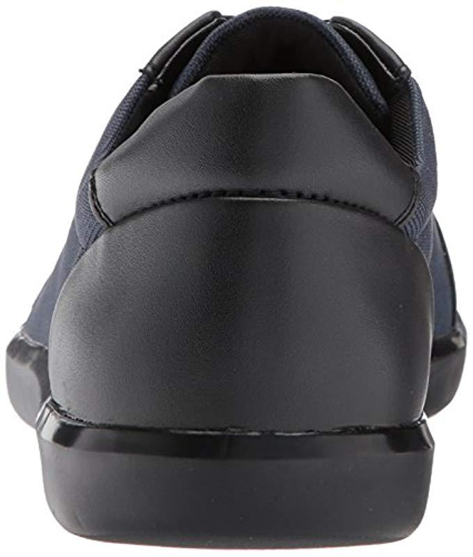 8c1351a32e4d Lyst - Calvin Klein Macabee Brushed Leather blstc Nyl Oxford in Black for  Men