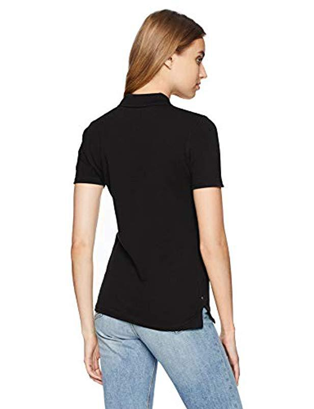 2534387f Lyst - Tommy Hilfiger Polo Shirt Original Flag With Short Sleeves in Black