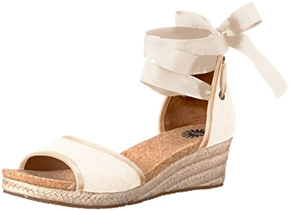 9a64efedebf UGG. Women s Amell Wedge Sandal