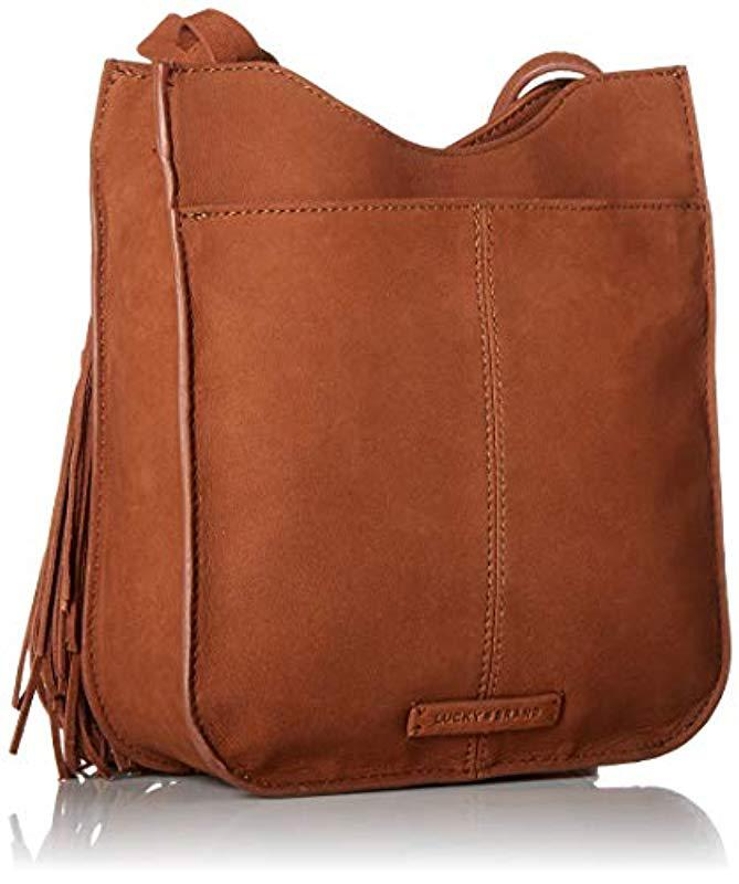 Lyst - Lucky Brand Lucky Wren Shoulder in Brown 665b0ad1bcb6e