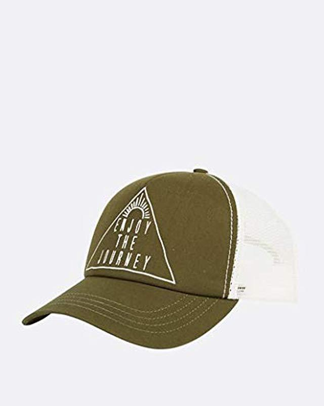 0b37a582 Lyst - Billabong Aloha Forever Hat in Green for Men - Save 67%