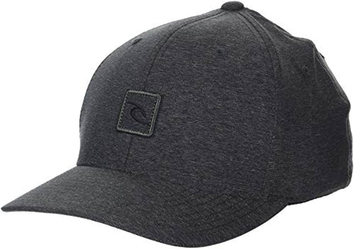 6b2314c0 Lyst - Rip Curl Icon Voyager Flexfit in Gray for Men