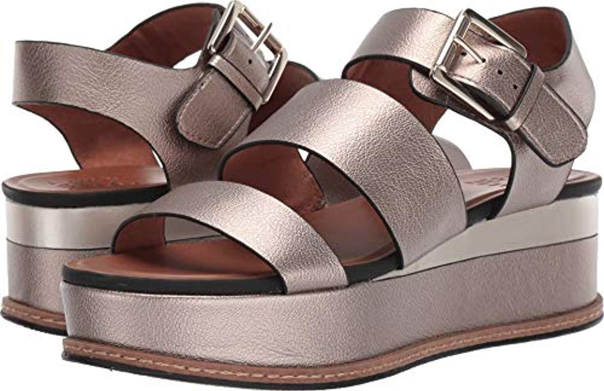 3caf4a9aaa39 Lyst - Naturalizer Billie Espadrille Wedge Sandal in Brown