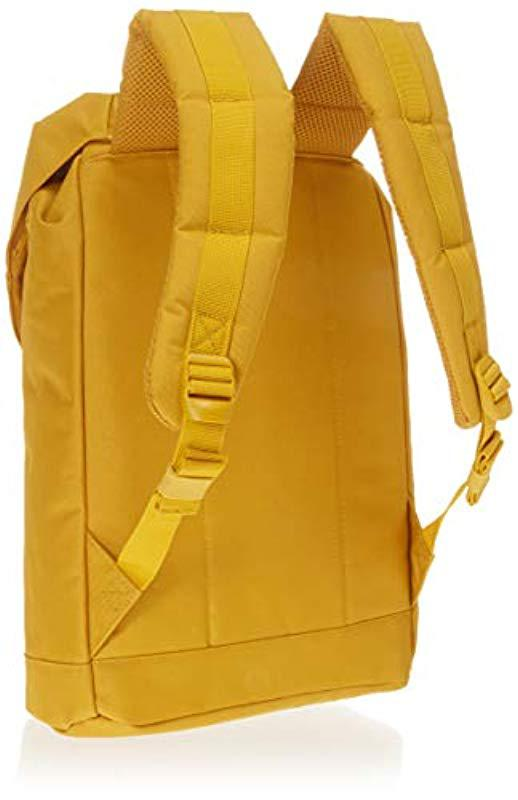 e625c85240fd Herschel Supply Co. - Yellow Retreat Mid-volume Backpack - Lyst. View  fullscreen