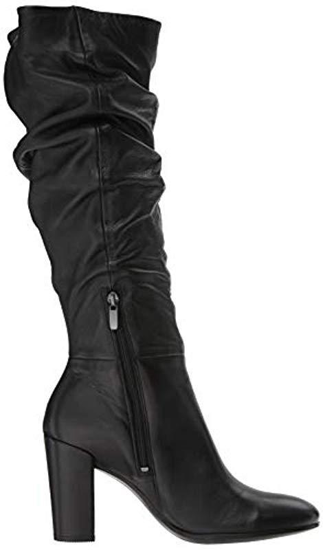 dbcf1a3eed7 Ecco - Black Shape 75 Slouch Fashion Boot - Lyst. View fullscreen