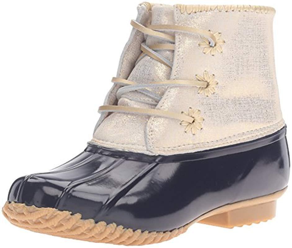 359244e6349 Lyst - Jack Rogers Chloe Rain Boot in Blue