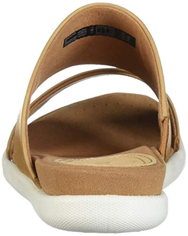 e387280b30f3 Lyst - Ecco Damara Ii Slide Flat Sandal