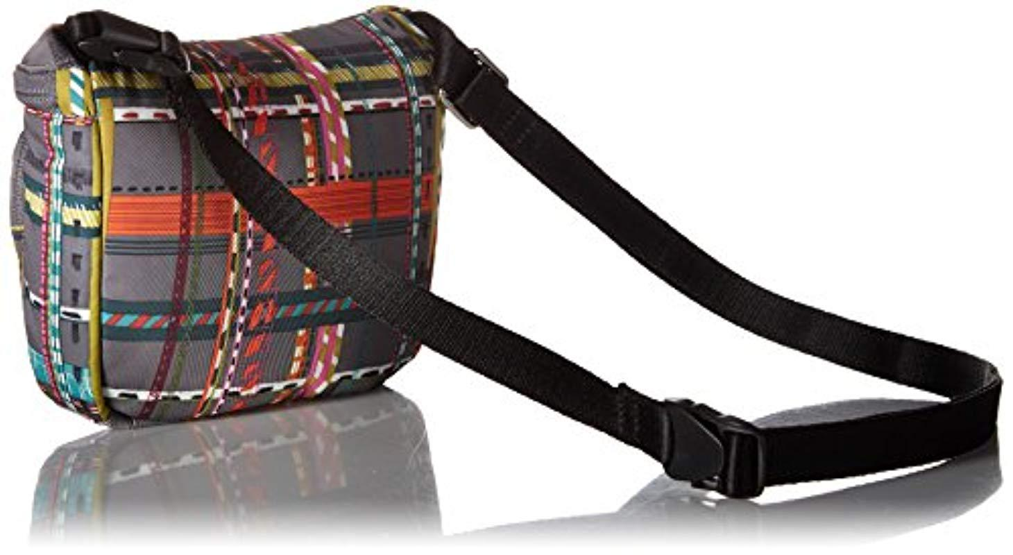 106f20c2ae Vera Bradley - Multicolor Midtown Belt Bag City Plaid - Lyst. View  fullscreen
