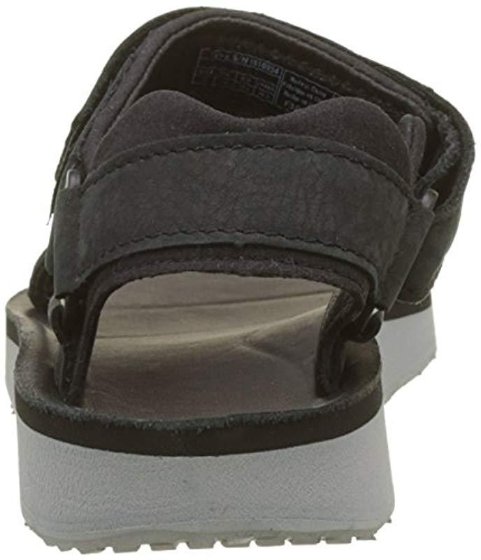 b06fb65b2776 Teva - Black Original Universal Premier Leather Sports And Outdoor  Lifestyle Sandal - Lyst. View fullscreen