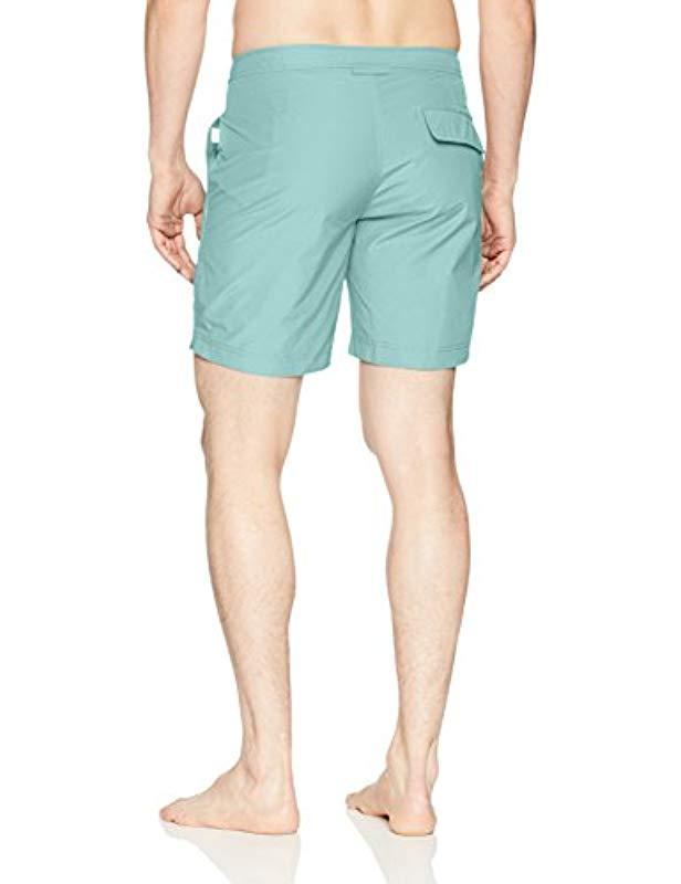 4cb338c55e Lyst - Onia Petite-plus Size Calder 7.5 Inch Solid Swim Trunk in Blue for  Men - Save 47%