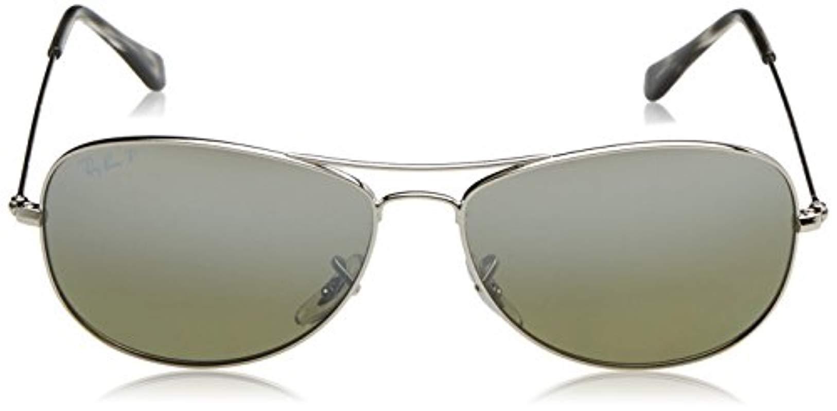 fbd83a356d1 Ray-Ban - Metallic Rb3562 Chromance Lens Pilot Sunglasses - Lyst. View  fullscreen