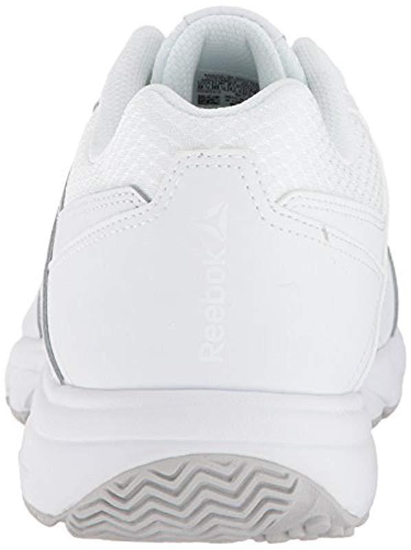 Reebok - White Work N Cushion 3.0 4e Walking Shoe for Men - Lyst. View  fullscreen 250764642