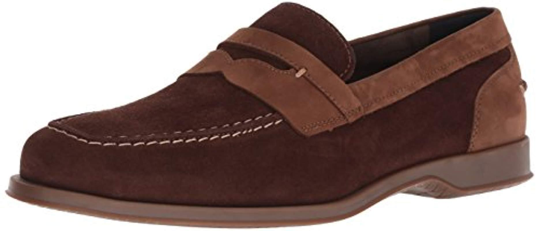 39f26741db4 Lyst - Cole Haan Fleming Penny Loafer in Brown for Men - Save 25%
