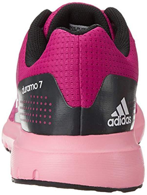 new styles 80d56 bc490 Duramo Shoe Running 7 W Performance Pink In Adidas Lyst wxAvX
