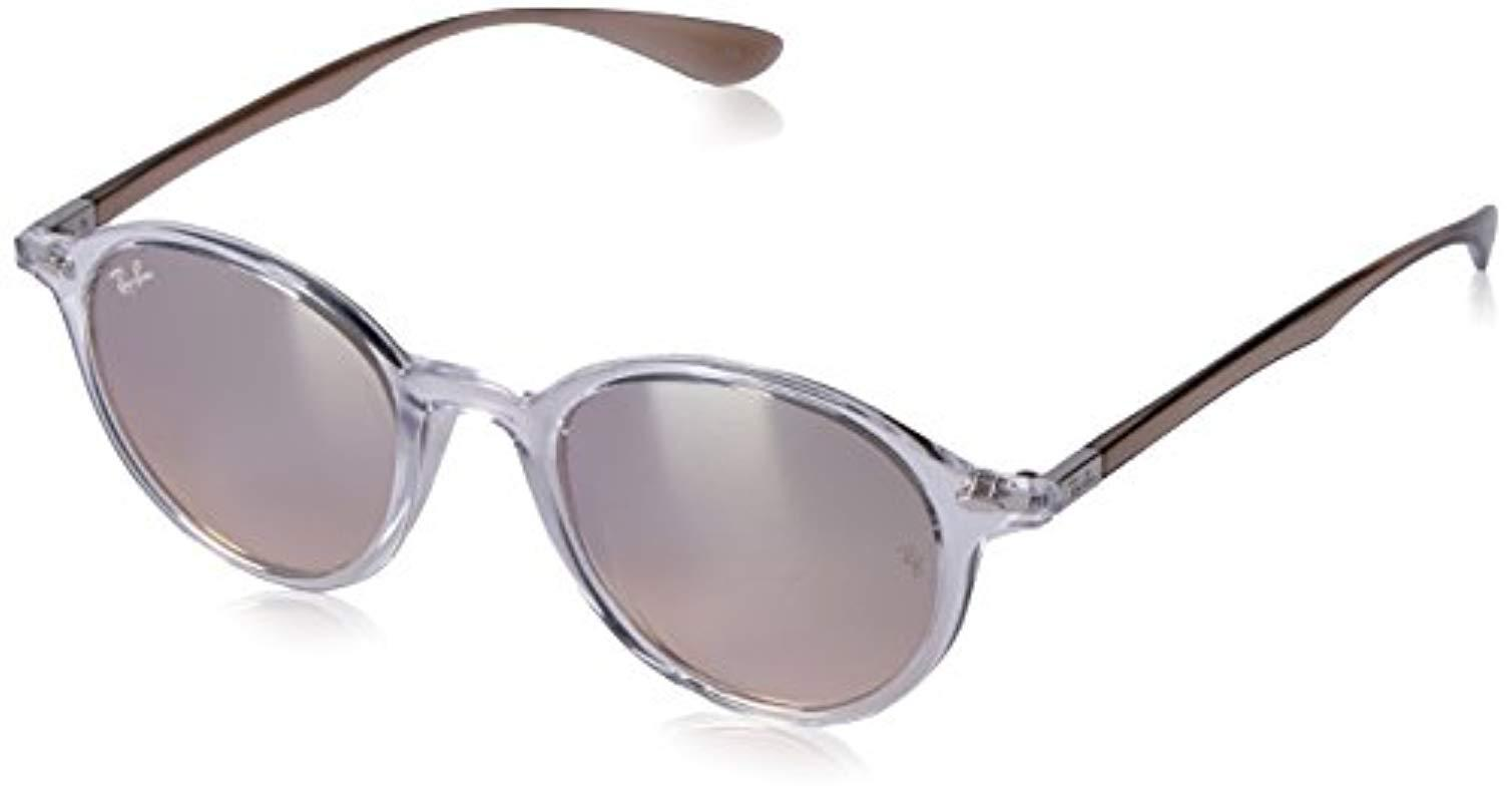 f0ccf0cfe1 Lyst - Ray-Ban Tech Liteforce Round Flash Sunglasses - Save 20%