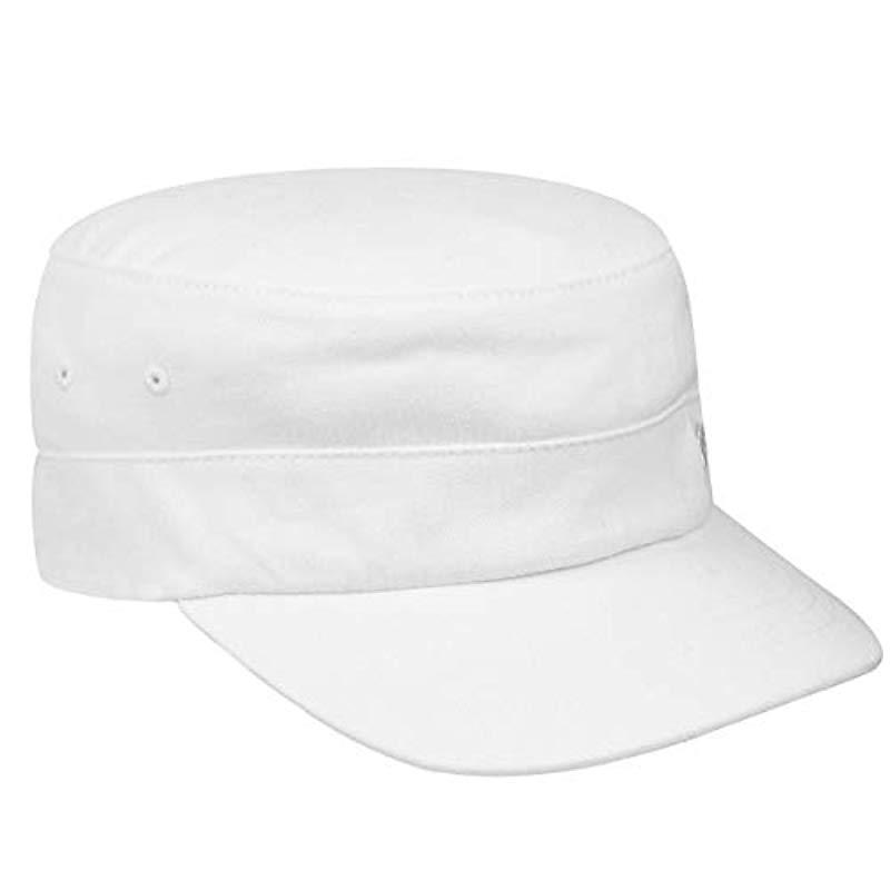 e5d31723d Kangol Flexfit Army Cap in White for Men - Lyst
